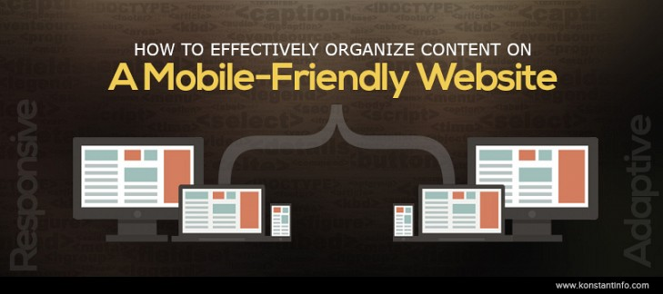 How to Effectively Organize Content on a Mobile-Friendly Website