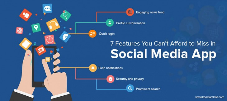 7 Features You Can't Afford to Miss in Social Media App