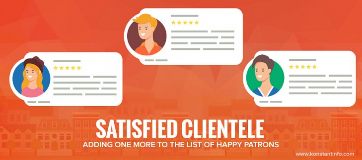 Satisfied Clientele- Adding One More to the List of Happy Patrons