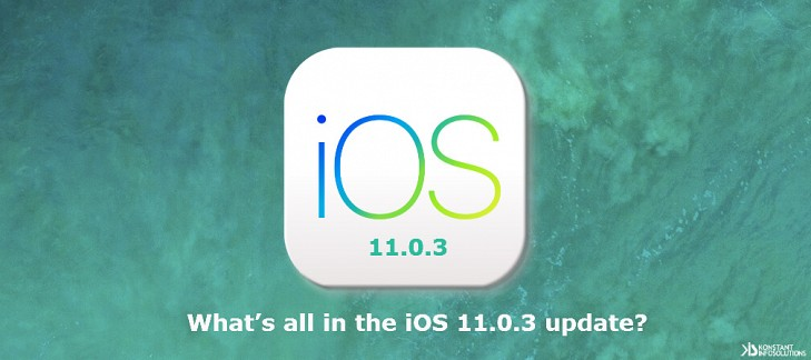 What's all in the iOS 11.0.3 update?