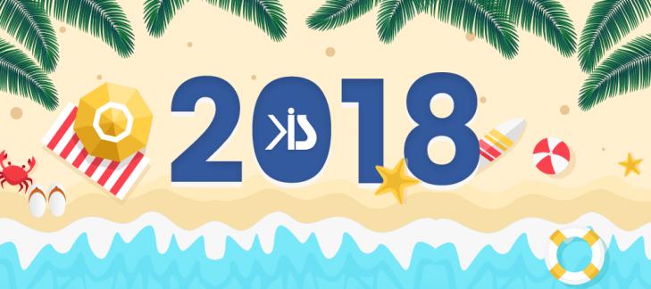 List of Holidays – 2018
