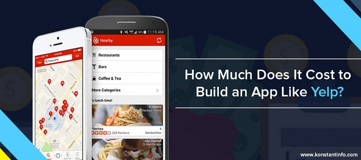 How Much Does It Cost to Build an App Like Yelp?