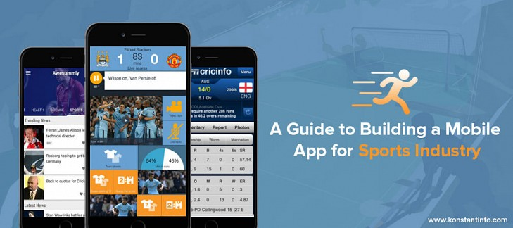 A Guide to Building a Mobile App for Sports Industry