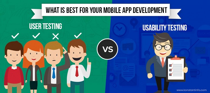 Usability Testing vs. User Testing. What is Best for Your Mobile App Development
