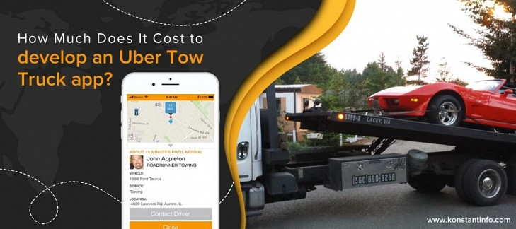 How Much Does It Cost to Develop an Uber Tow Truck app?
