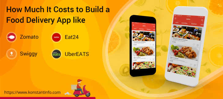 How Much It Costs to Build a Food Delivery App like Zomato, Swiggy, UberEATS, and Eat24?