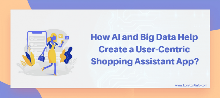 How AI and Big Data Help Create a User-Centric Shopping Assistant App?