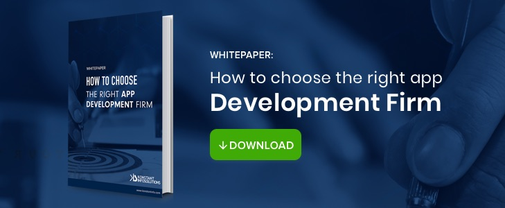 Whitepaper: How to Choose the Right App Development Firm