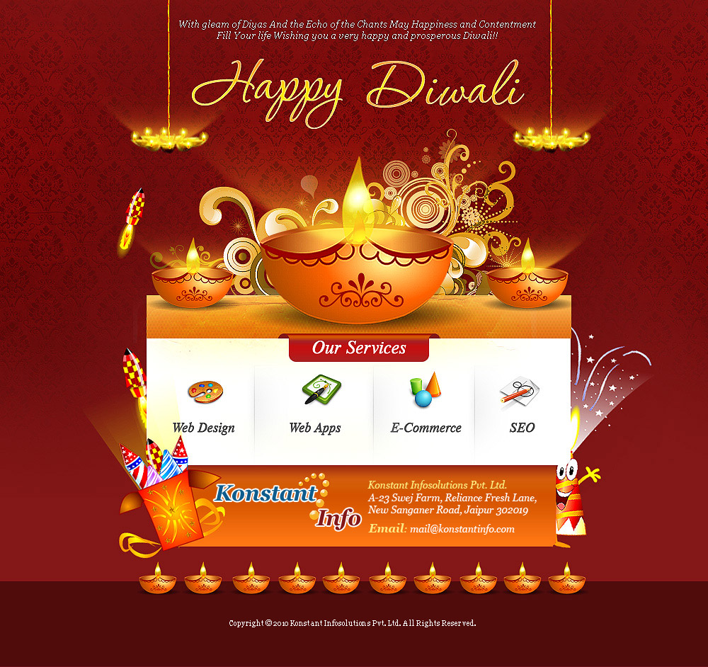 Happy Diwali - Konstantinfo