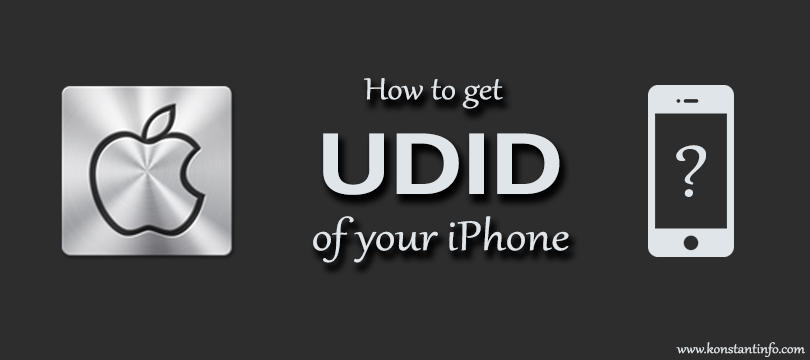 How to Find UDID (Unique Identifier) of Your iPhone