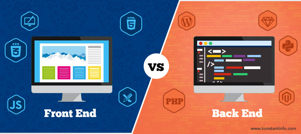 Front-End and Back-End Web Development: All You Need to Know