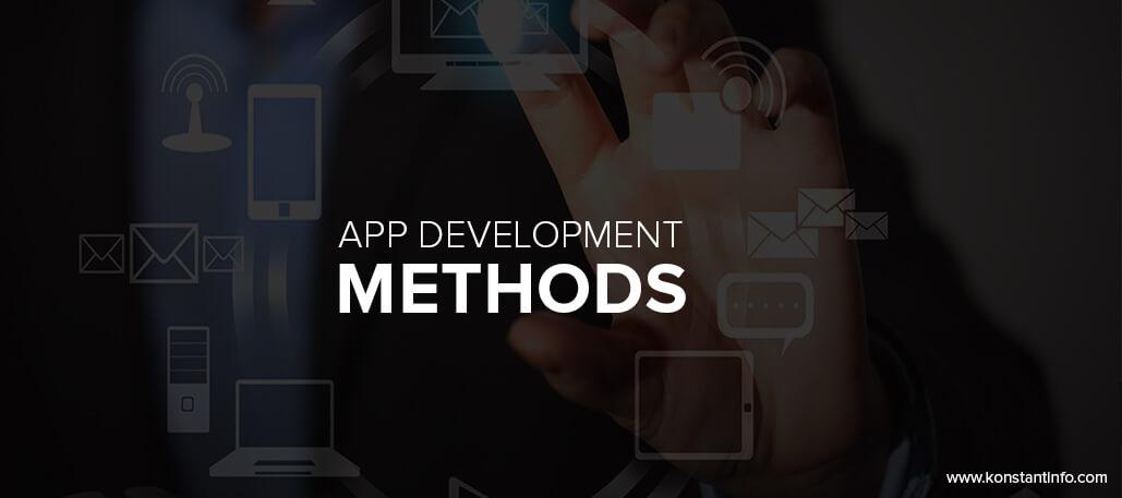 App development methods