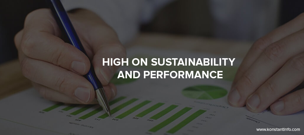 High on Sustainability and Performance