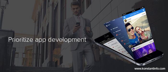 Prioritize-app-development