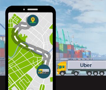 Uber On-Demand Trucking App