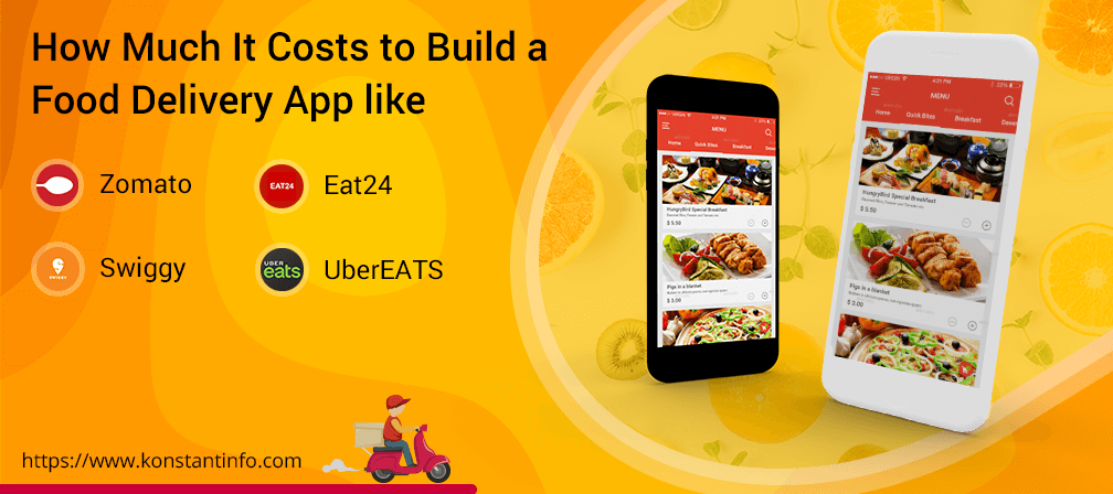 Costs to Build a Food Delivery App like Zomato, Swiggy