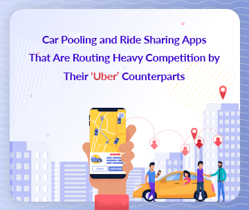 car pooling and ride sharing apps