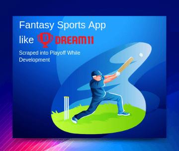 Fantasy Sports App like Dream11