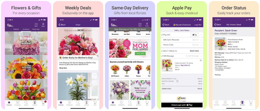 flower app offers