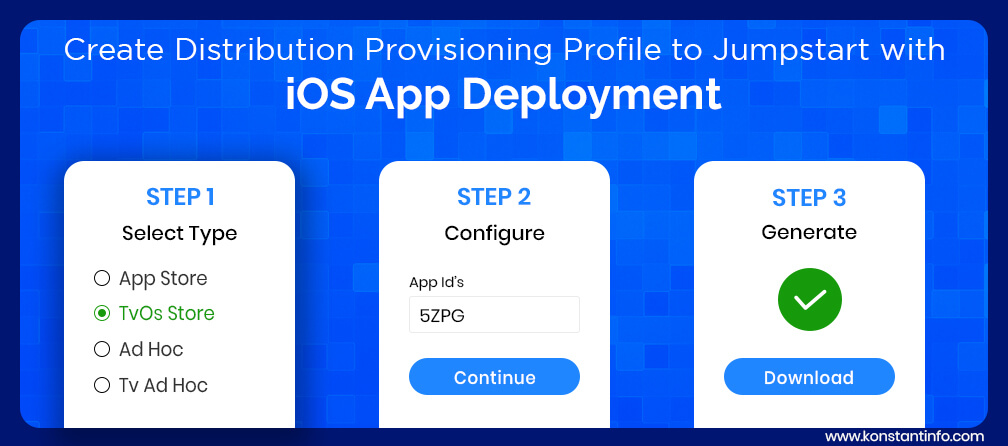 Create a Distribution Provisioning Profile to Jumpstart with iOS App Deployment