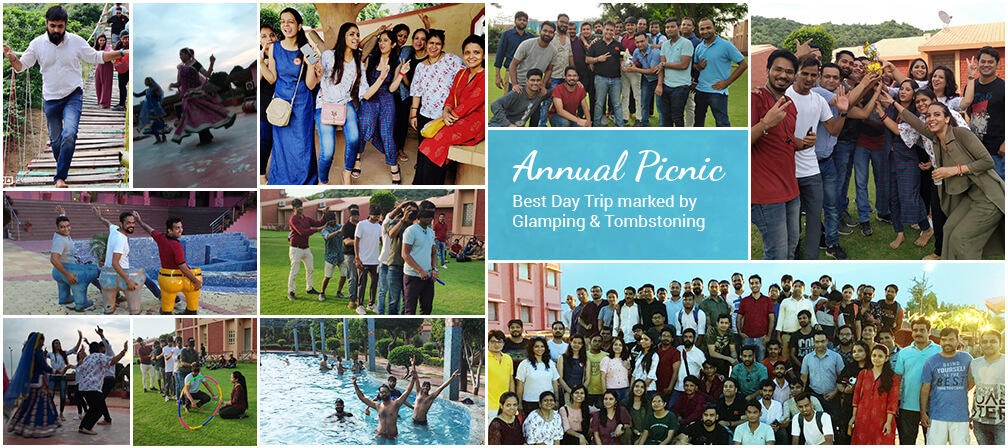 #Annual Picnic: Best Day Trip Marked by Glamping & Tombstoning