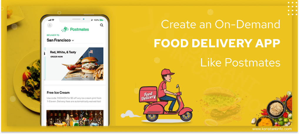 Food Delivery App Like Postmates