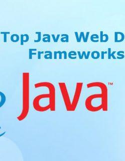 Java Development Frameworks