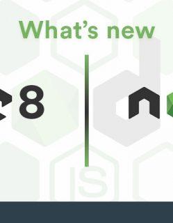 Node.js 8 and Node.js 9