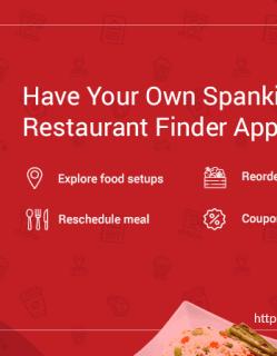 Restaurant Finder App Like EAT24