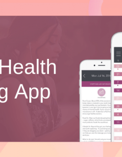 Female Health Tracking App