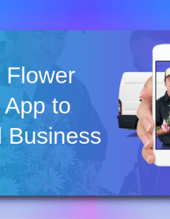Uber for Flower Delivery App