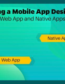 app design for web vs native app